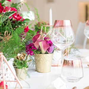 Luxe Jewel Tone Table Decor