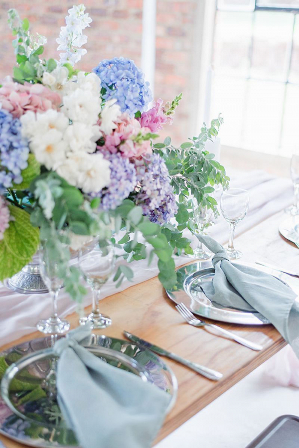 Pastel Table Decor