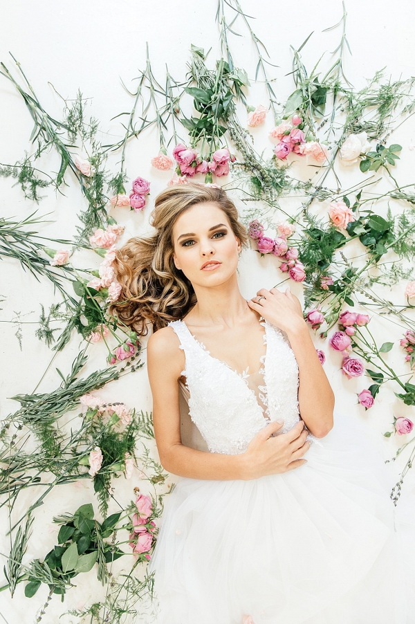Bride with Blooms