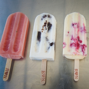 Ice Creams with Custom Sticks