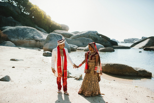 Destination Traditional Hindu Wedding in Cape Town
