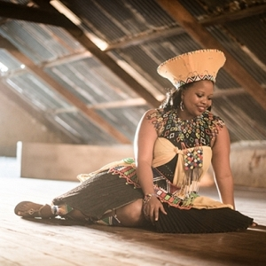 Bride in Traditional Zulu Wedding Attire
