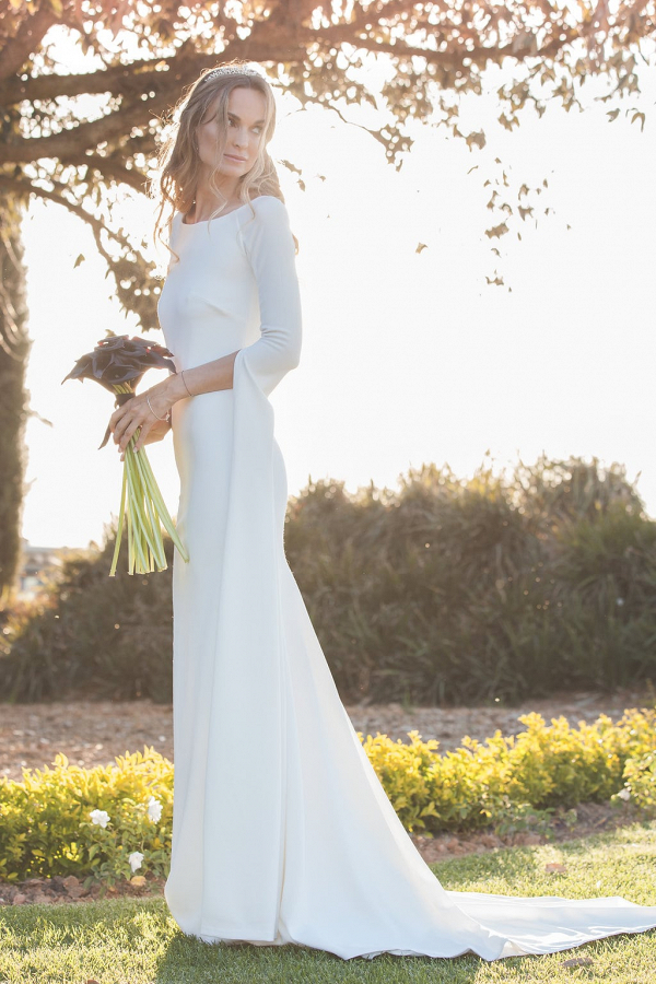 Statement Sleeve Wedding Dress