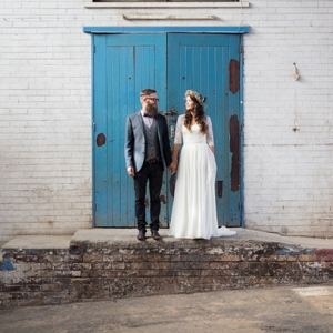 Urban Boho Bride & Groom