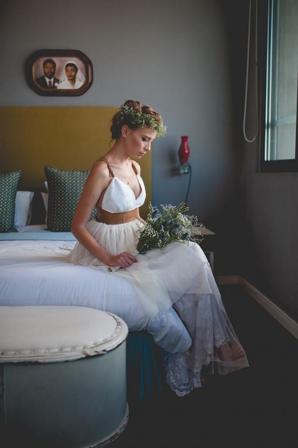 Urban boho bride