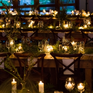 Candlelit Wedding Tables