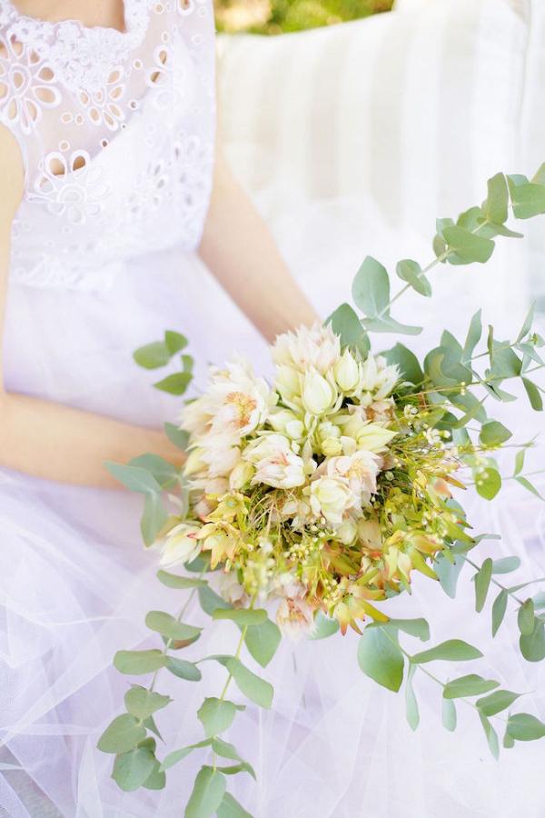 Blushing Bride Protea Bouquet