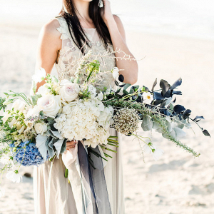 Bouquet in Shades of Blue