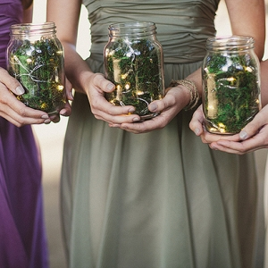 Firefly jar bouquet alternative