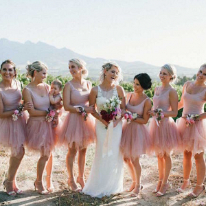 Tutu Bridesmaid Dresses
