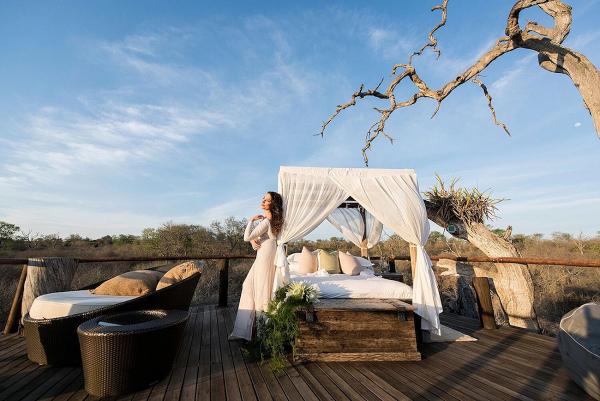 Lion Sands Open Air Honeymoon Suite