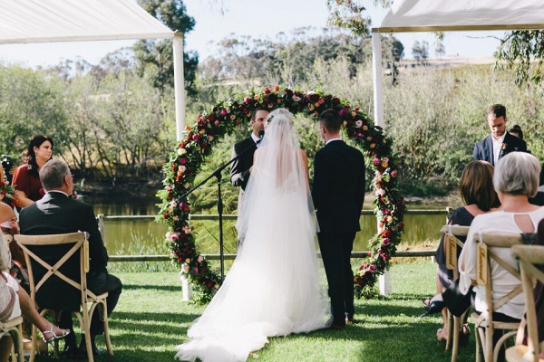 Circle Floral Arch
