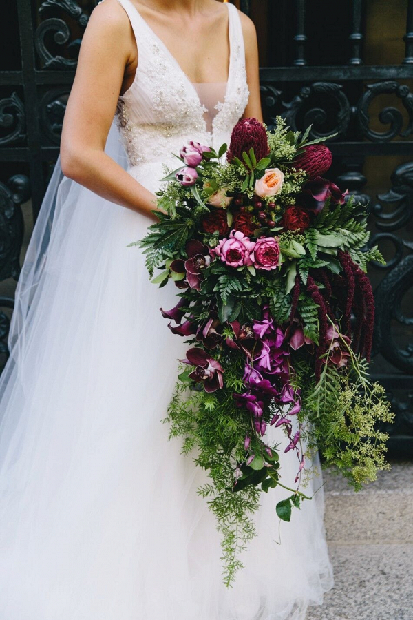 Extravagant Jewel Tone Bouquet