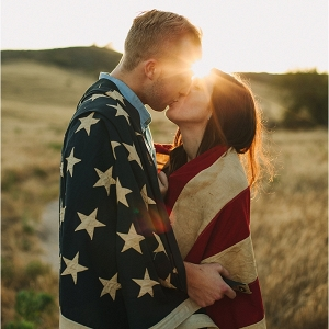 4th of July Inspired Anniversary Shoot