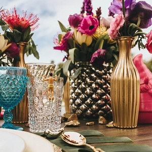 Tropical Tablescape Ideas