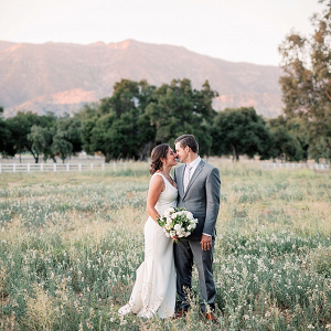 Ojai wedding portrait
