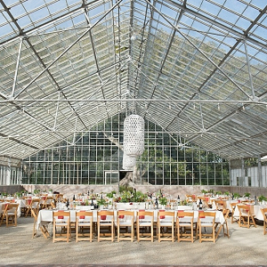Greenhouse reception