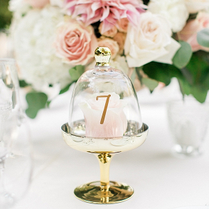 Cloche table number