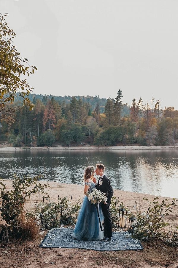 Mountain lake elopement