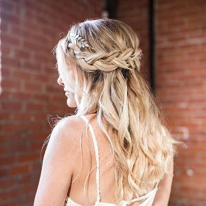 Braided wedding hair