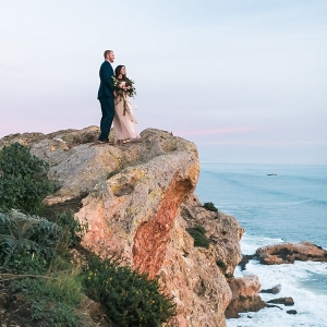 A beautiful San Luis Obispo Engagement Session on a Cliff