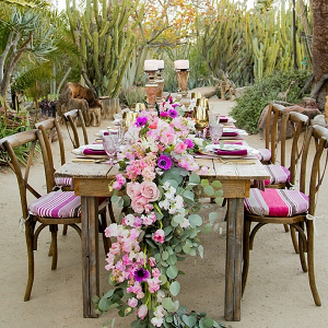 Moroccan inspired reception
