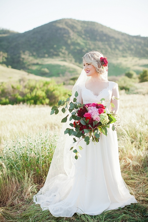 Spanish Romance Inspired Styled Shoot with Bride