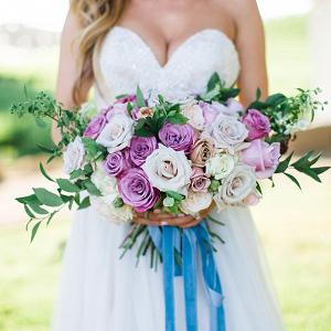 Lush violet bouquet
