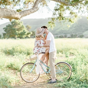 Whimsical Open Field Anniversary Session