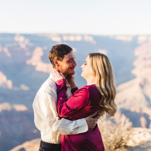 Glamorous Grand Canyon engagement session