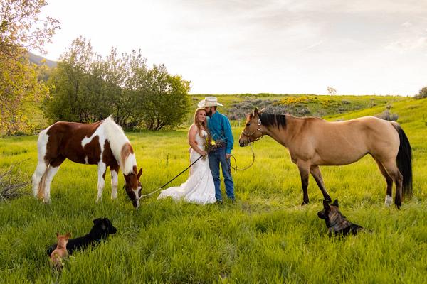 Rocky mountain elopement in Utah