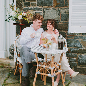 European-Style Countryside Elopement