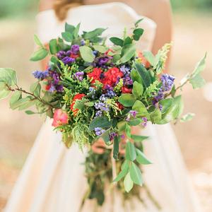Wild Flower Found Fauna Bouquet Capturing Smiles Photography