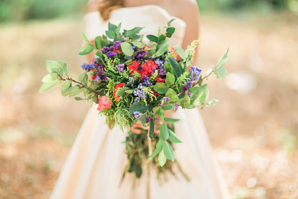 Wild Flower Found Fauna Bouquet Capturing Smiles Photography