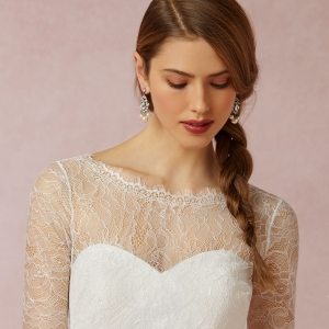BHLDN Marnie Topper Lace Overlay