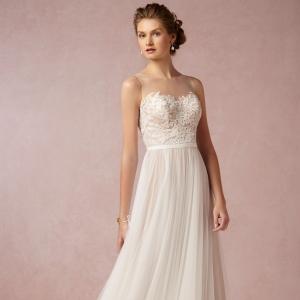 BHLDN Penelope Wedding Dress In Tulle