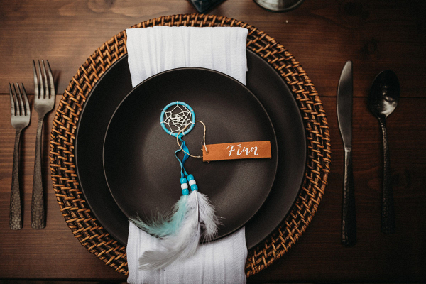 Tablescapes with dreamcatcher