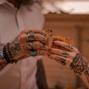 Tattoed cheers