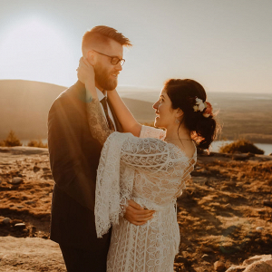Spectacular fall wedding