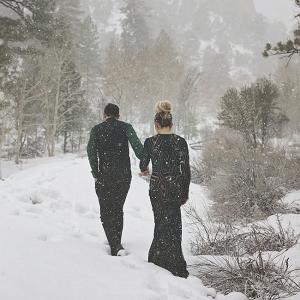 Dark Romance Elopement Lissables Photography