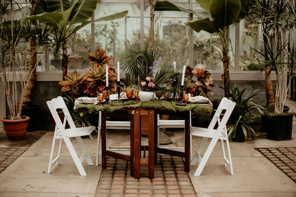 Tablescapes with greenery