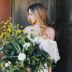 Bohemian La Purisima Mission Wedding Alexandra Wallace