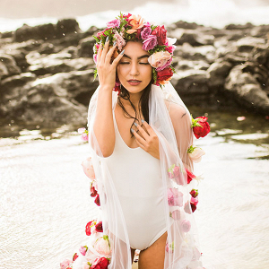 Sunrise Hawaiian Boudoir Vanessa Hicks Photography