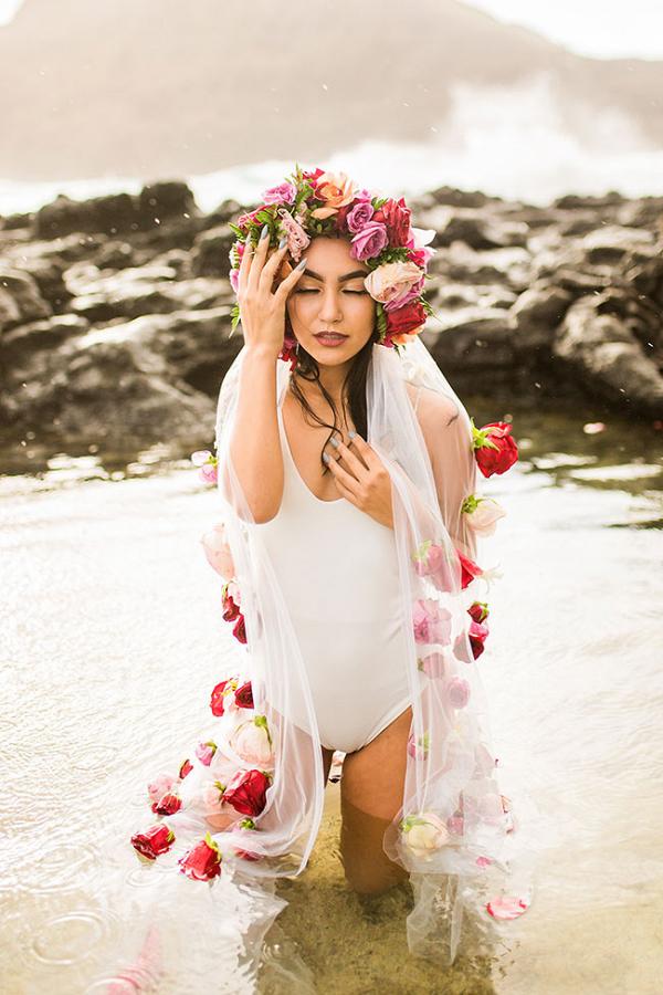 Sunrise Hawaiian Boudoir Vanessa Hicks Photography