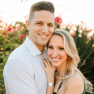 Romantic ranch engagement session in California