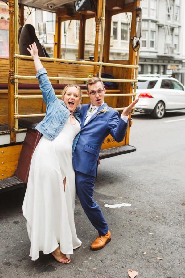 Intimate Stern Grove wedding in San Francisco