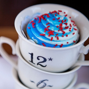 4th of July Inspired Americana Wedding Decor & Cupcakes Siegel Thurston Photography