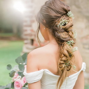 Wedding Hair Old Sheldon Church Ruins Bridals Casey Hendrickson Photography