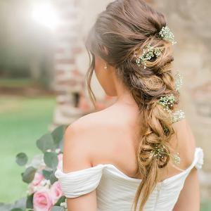 Wedding Hair Old Sheldon Church Ruins Bridals Casey Hendrickson Photography