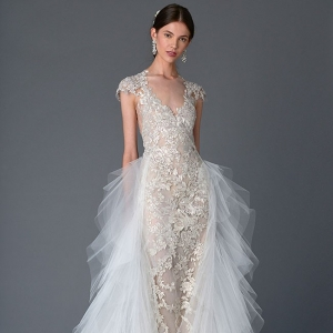 Embroidered Marchesa Wedding Dress Spring Summer 2017 Collection